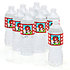 Farm Animals - Personalized Baby Shower Water Bottle Label Favors