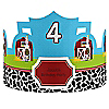 Farm Animals - Personalized Birthday Party Hats - 8 ct