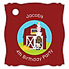 Farm Animals - Personalized Birthday Party Tags - 20 ct