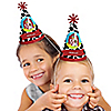 Farm Animals - Personalized Cone Birthday Party Hats - 8 ct