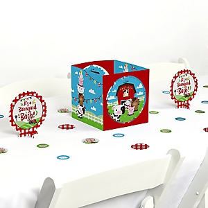 Farm Animals - Party Centerpiece & Table Decoration Kit