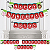 Farm Animals - Personalized Birthday Party Bunting Banner