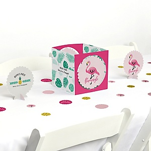 Flamingo - Party Like a Pineapple - Party Centerpiece & Table Decoration Kit