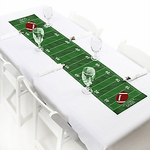 End Zone - Football - Personalized Party Petite Table Runner