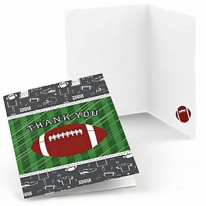 End Zone - Football - Party Thank You Cards - 8 ct