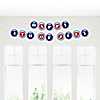 4th of July - Party Garland Letter Banner