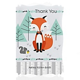 Mr. Foxy Fox - Personalized Baby Shower Thank You Cards