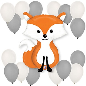 Fox - Baby Shower Balloon Kit