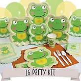Froggy Frog - 16 Person Baby Shower Kit