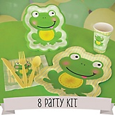 Froggy Frog - 8 Person Baby Shower Kit