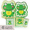 Froggy Frog - Baby Shower 48 Big Dot Bundle