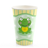 Froggy Frog - Baby Shower Hot/Cold Cups - 8 ct