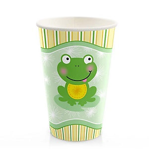 Froggy Frog - Baby Shower Hot/Cold Cups - 8 Pack