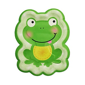 Froggy Frog - Baby Shower Dessert Plates - 8 Pack