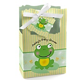 Froggy Frog - Personalized Baby Shower Favor Boxes