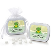 Froggy Frog - Personalized Baby Shower Mint Tin Favors