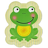 Froggy Frog - Baby Shower Dinner Plates - 8 Pack