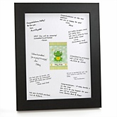 Froggy Frog - Personalized Baby Shower Print with Signature Mat