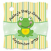 Froggy Frog - Personalized Baby Shower Tags - 20 ct