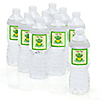 Froggy Frog - Personalized Baby Shower Water Bottle Label Favors