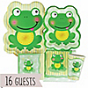 Froggy Frog - Birthday Party 16 Big Dot Bundle