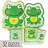 Froggy Frog - Birthday Party 32 Big Dot Bundle