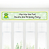 Froggy Frog - Personalized Birthday Party Banners