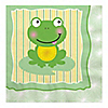 Froggy Frog - Birthday Party Luncheon Napkins - 16 ct