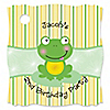Froggy Frog - Personalized Birthday Party Tags - 20 ct