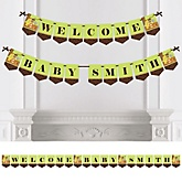 Funfari - Fun Safari Jungle - Personalized Party Bunting Banner