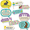 Funny Hippity Hoppity - Easter Party 10 Piece Photo Booth Props Kit