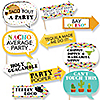 Let's Fiesta - 10 Piece Mexican Fiesta Photo Booth Props Kit
