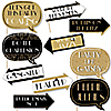 Funny Roaring 20's - 10 Piece Photo Booth Props Kit