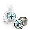 Gender Reveal - Boy - Personalized Party Candle Tin Favors