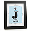 Gender Reveal Boy - Personalized Baby Shower Wall Art Gift