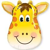 """Jolly Giraffe - Baby Shower Mylar Balloon - 32"""""""