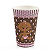 Modern Girl African American - Birthday Party Hot/Cold Cups - 8 ct