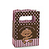 Modern Girl African American First Birthday Party - Personalized Birthday Party Mini Favor Boxes