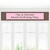 Modern Girl - Personalized Birthday Party Banners