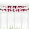 Girl Baby Carriage - Personalized Baby Shower Garland Letter Banners
