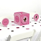 Girl Baby Carriage - Baby Shower Table Decorating Kit