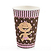 Modern Baby Girl Caucasian - Baby Shower Hot/Cold Cups - 8 ct