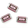 Modern Baby Girl - Personalized Baby Shower Mini Candy Bar Wrapper Favors - 20 ct