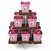 Silhouette Couples Baby Shower - It's A Girl - Baby Shower Candy Stand & 13 Fill Your Own Candy Boxes