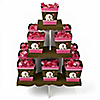 Girl Elephant - Birthday Party Candy Stand and 13 Candy Boxes