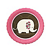 Girl Elephant  - Birthday Party Dessert Plates - 8 ct