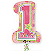 One-derful Birthday Girl - Birthday Party Mylar Balloon