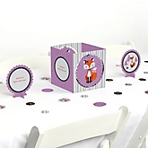 Miss Foxy Fox - Baby Shower Centerpiece & Table Decoration Kit