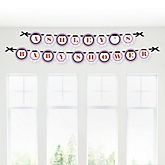 Miss Foxy Fox - Personalized Baby Shower Garland Banner