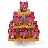 Giraffe Girl - Baby Shower Candy Stand & 13 Fill Your Own Candy Boxes